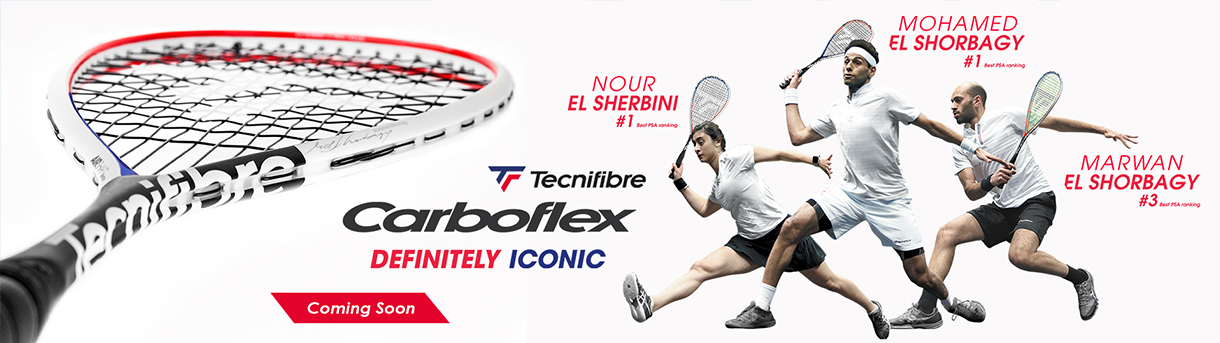 Tecnifibre Carboflex Airshaft Launch Banner - Coming Soon
