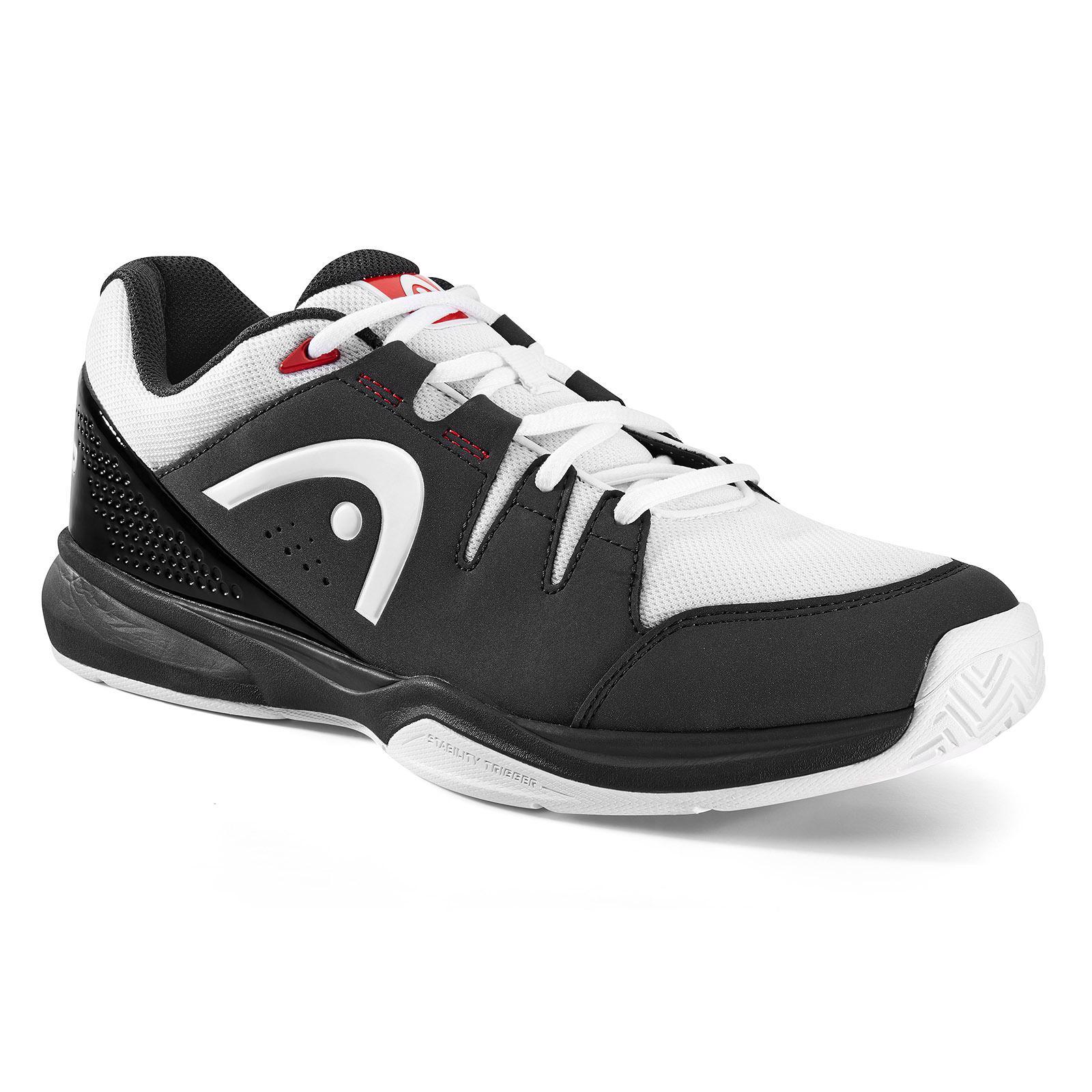 Head Grid 3.0 Squash Shoes (Black/White