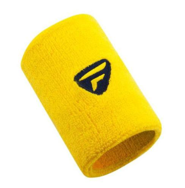 Tecnifibre Wristbands XL TF - YELLOW