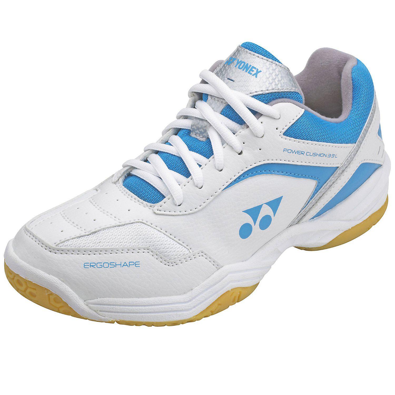 Luxury Yonex SHB 33LX Womens Badminton Shoes  WhitePink  Tennisnutscom