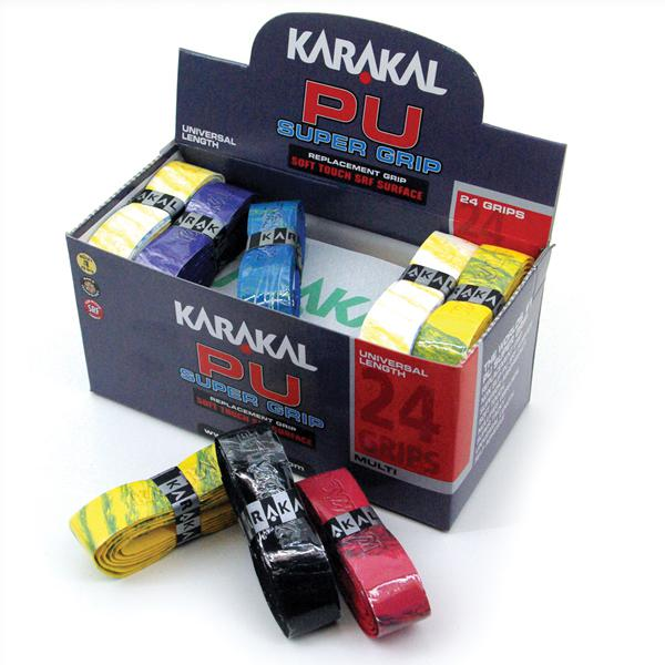 Karakal PU Super Grips x 24 Multi Box