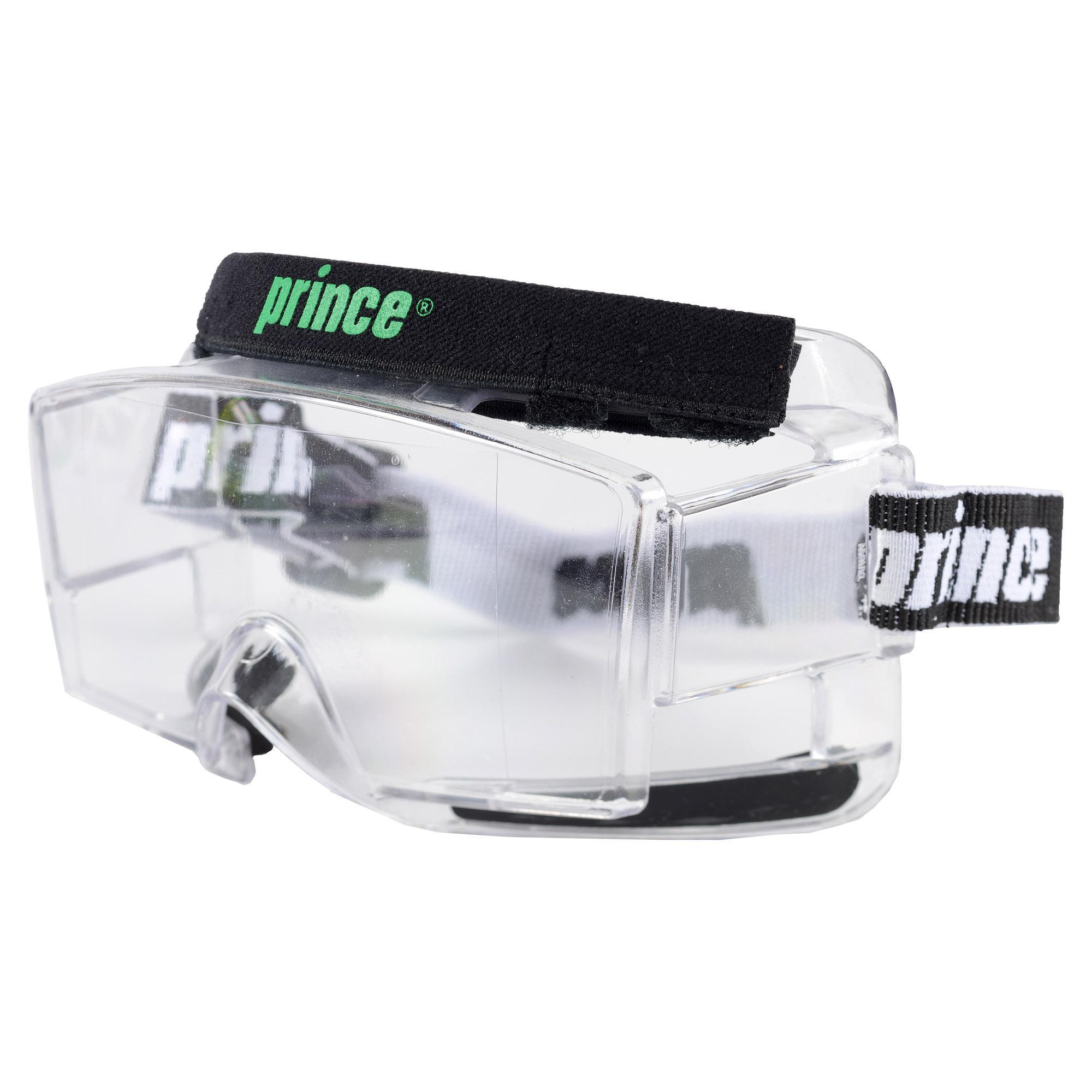 clear goggles nmj0  Prince Quantum Clear Squash Goggles