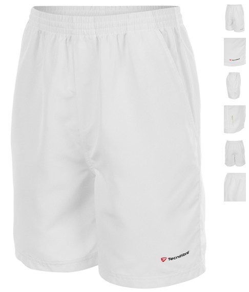 Tecnifibre Boys Cool Short (White)
