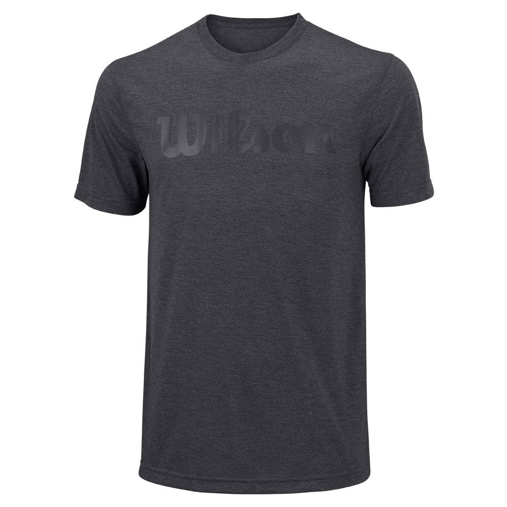 Wilson Men's UW Tech Tee Ebony