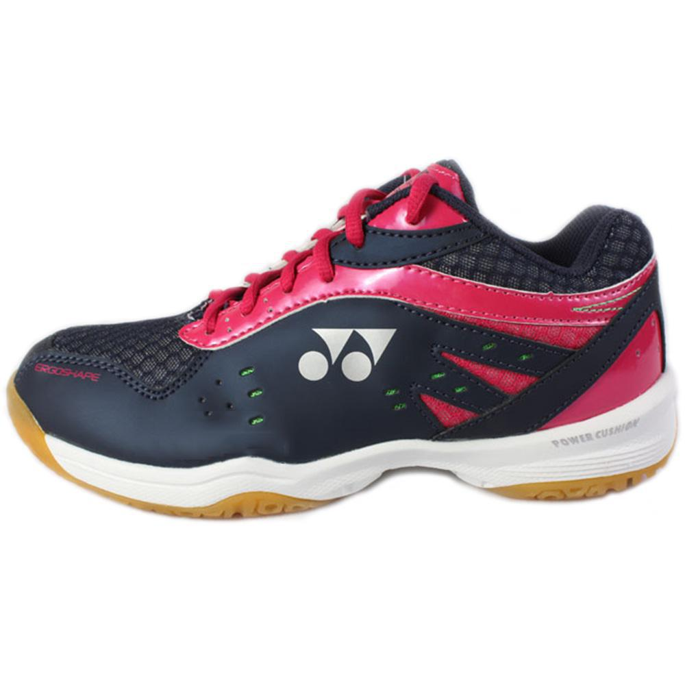 Yonex Womens Power Cushion SHB 280 Badminton Shoes - Navy/Pink