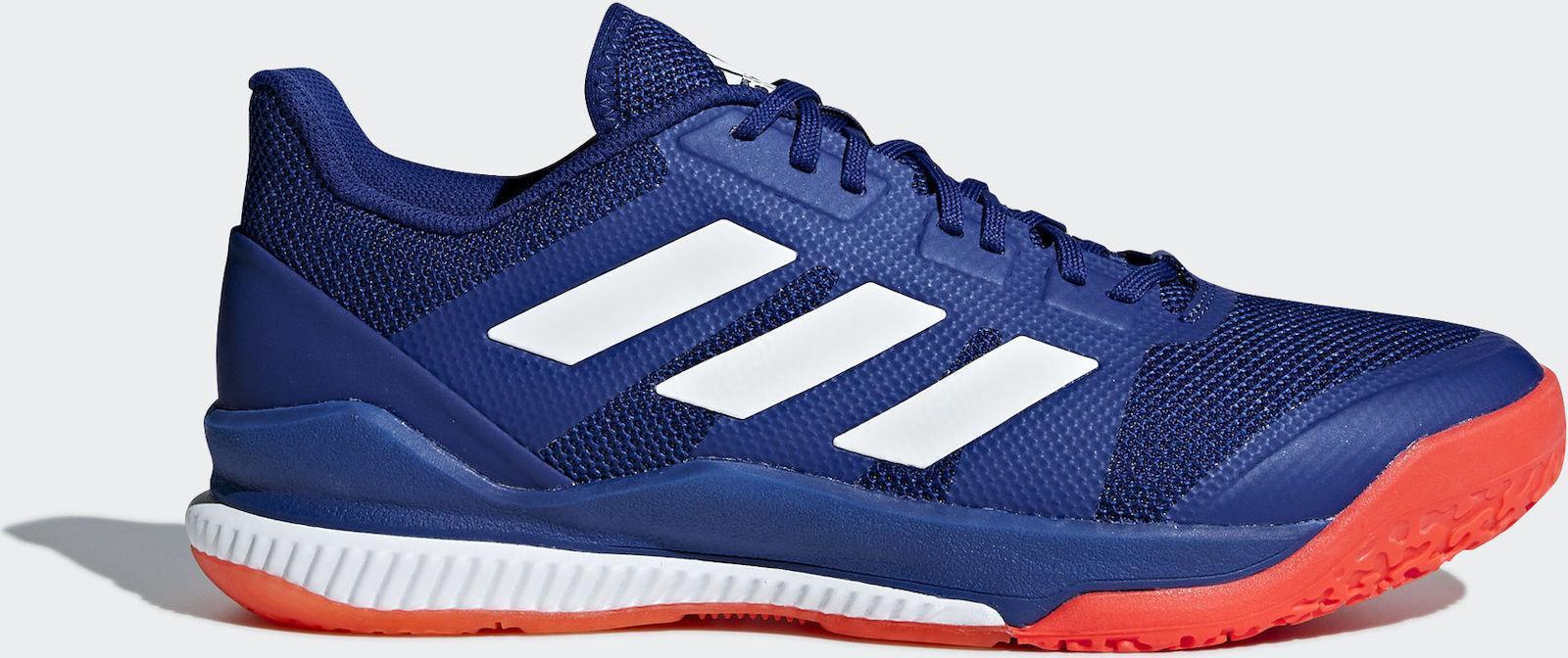 b0b07504a Adidas Stabil Bounce Squash Shoes - Blue - Just Squash