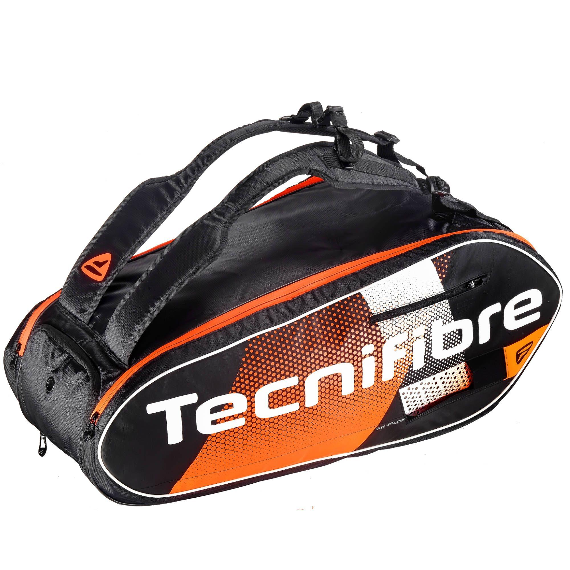Tecnifibre Air Endurance 9R Colour: Black/Orange